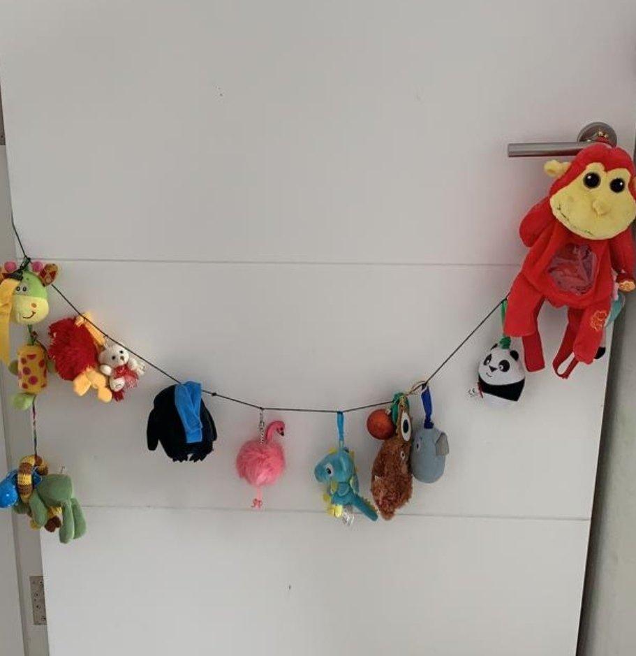 Animal door hanging by damuru creations