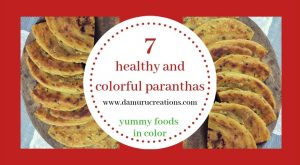 7 healthy colorful paranthas for toddlers