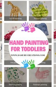 Hand painting  for toddlers