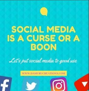 Social media is good